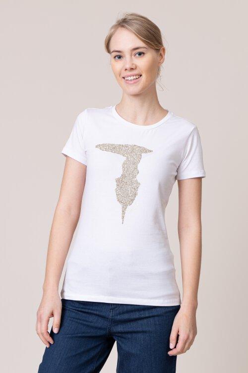 T-Shirt Trussardi Jeans 56T00237_1T003614_W001 biały