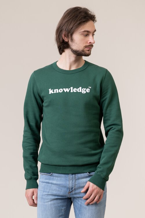 Bluza Knowledgecotton Apparel 30472_1294 zielony
