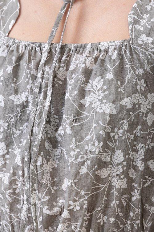 Sukienka Na-Kd 1014-000752_GREY FLOWER szary