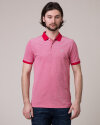 Polo Knowledgecotton Apparel 20065_1293 czerwony