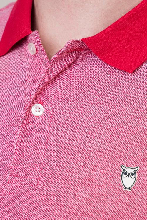 Polo Knowledgecotton Apparel 20065_1293 czerwony
