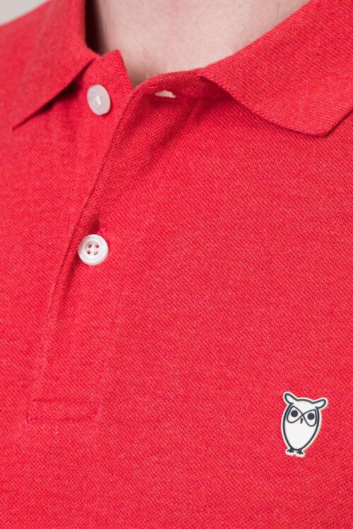 Polo Knowledgecotton Apparel 20040_1303 czerwony