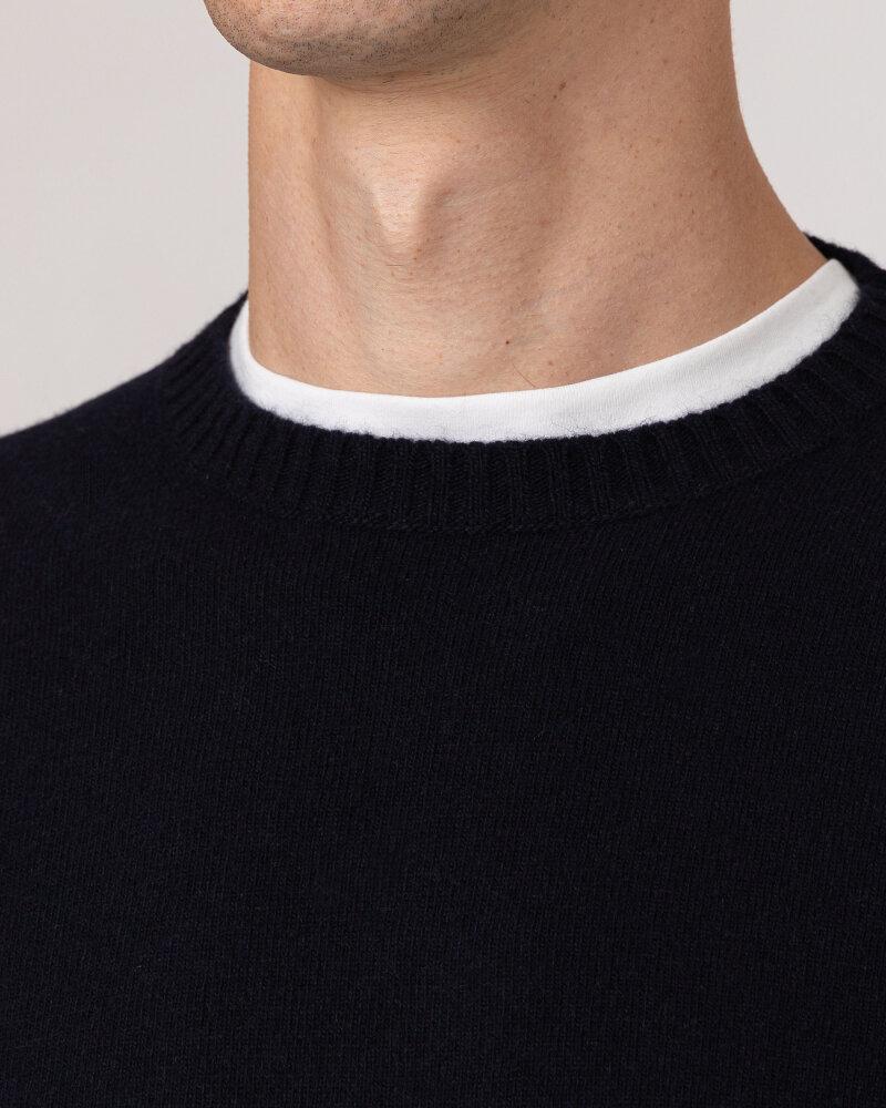 Sweter Oscar Jacobson VALTER 6891_4954_210 granatowy - fot:3