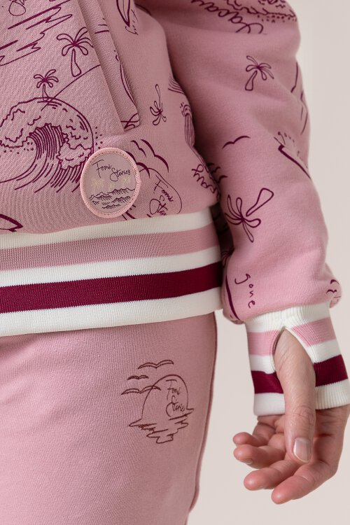 Bluza Femi Stories KENTA_PON różowy
