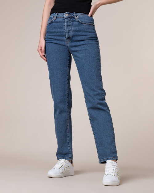Spodnie Na-Kd 1100-001961_MID BLUE niebieski