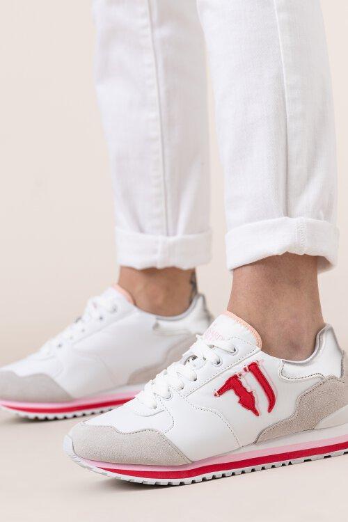 Buty Trussardi Jeans 79A00486_9Y099999_W724 biały