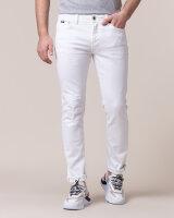 Spodnie Gas 99182_SAX ZIP_0001 biały