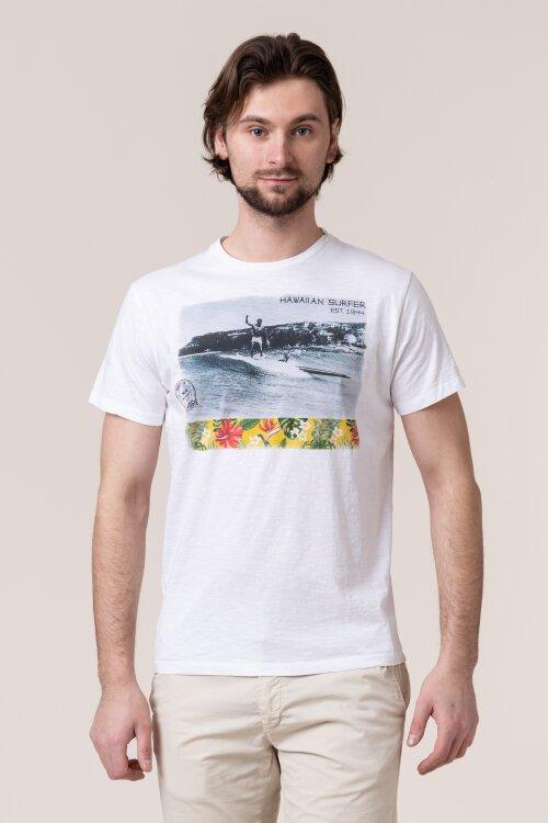 T-Shirt Bomboogie TM6315_JSSG_00 biały
