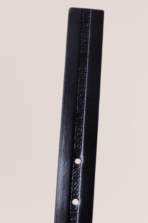 Pasek Trussardi Jeans 75L00097_9Y099999_K299 czarny