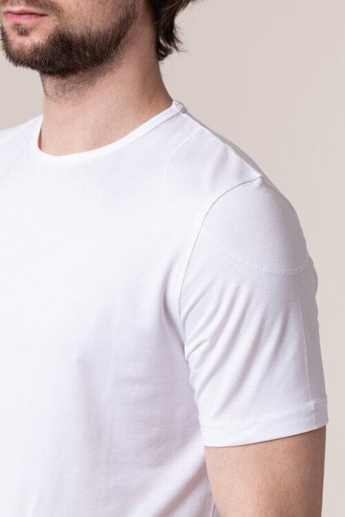 T-Shirt Daniel Hechter 75002-101902_010 biały