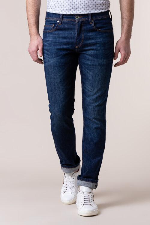 Spodnie Daniel Hechter 26090-101355_680 niebieski