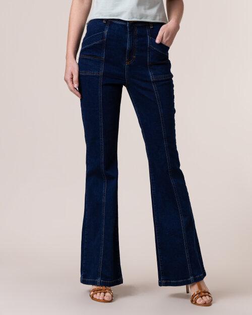 Spodnie Na-Kd 1018-005086_MID BLUE granatowy