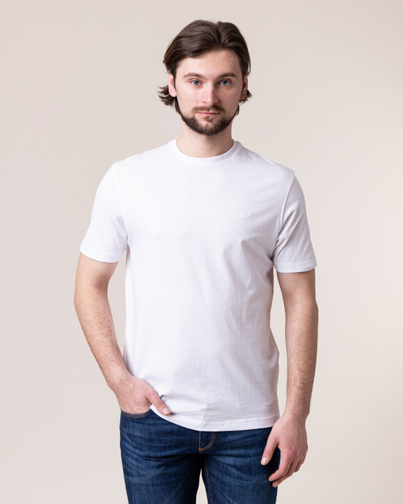 T-Shirt Daniel Hechter 10283-472_001 biały - fot:2