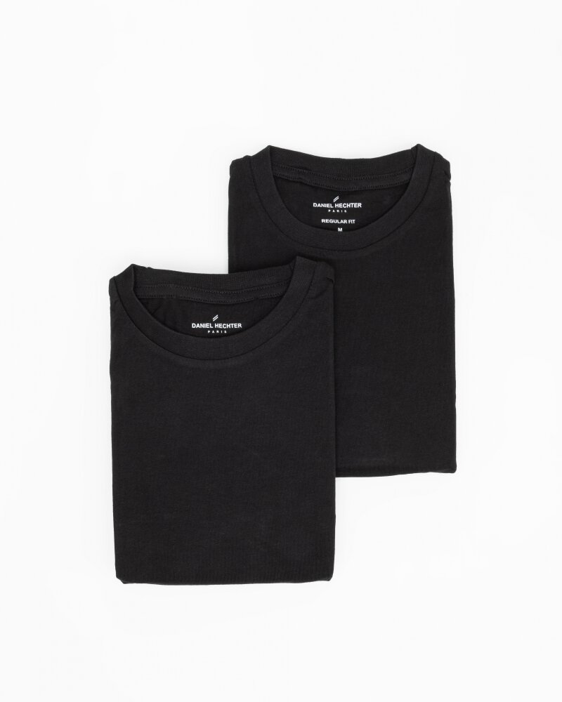 T-Shirt Daniel Hechter 10283-472_090 czarny - fot:1