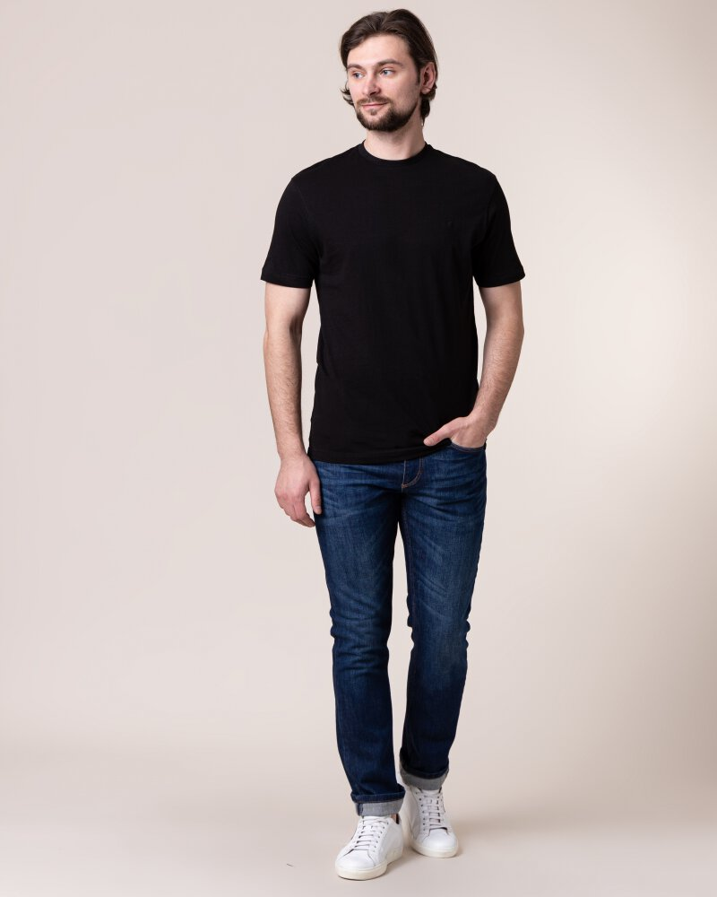 T-Shirt Daniel Hechter 10283-472_090 czarny - fot:5