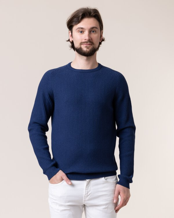 Sweter New In Town 89N5001_475 niebieski