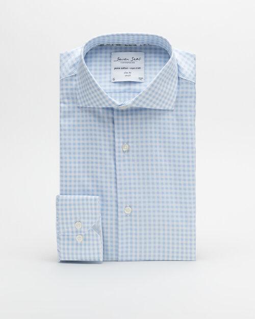 Koszula Seven Seas EDISON_700 niebieski
