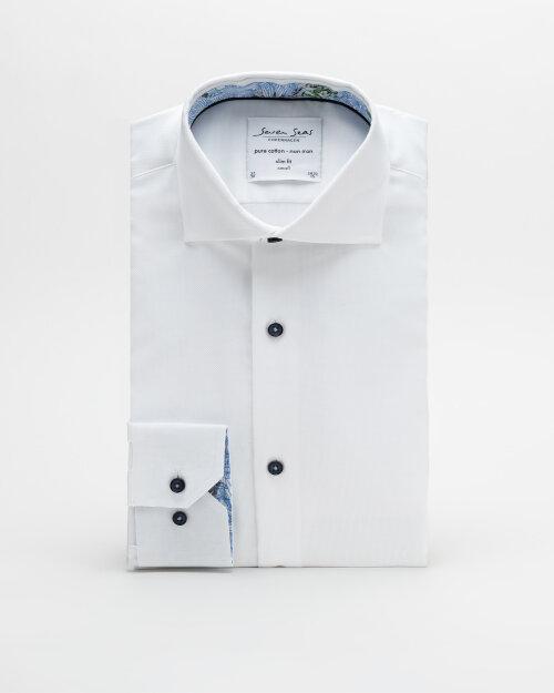 Koszula Seven Seas ROYAL OXFORD W/JUNGL_001 biały