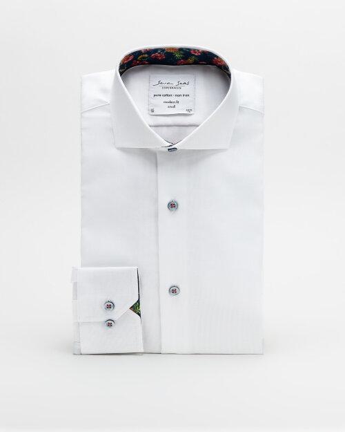Koszula Seven Seas ROYAL OXFORD W/PINEA_001 biały