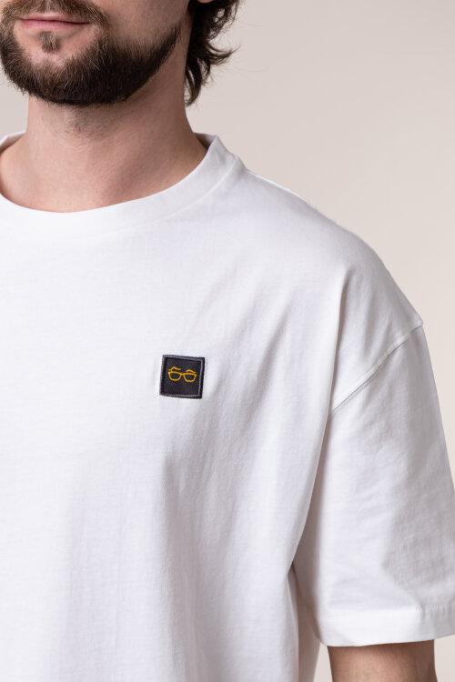 T-Shirt New In Town 8023012_103 biały
