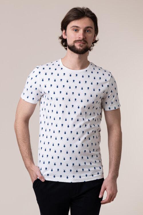 T-Shirt New In Town 8023016_103 biały