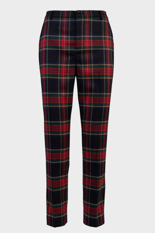 Spodnie Lauren Ralph Lauren 200772664001_P BLCK/RED wielobarwny