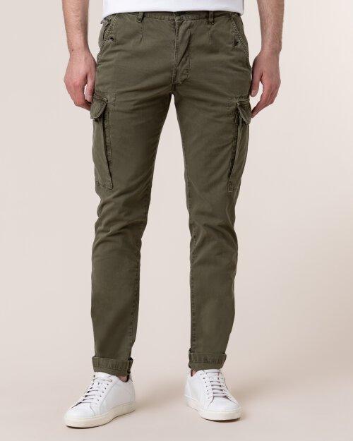 Spodnie Blauer 20SBLUP04276_694 zielony