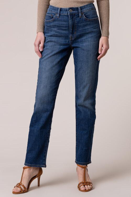 Spodnie Lauren Ralph Lauren 200755039001_CITY BLUE niebieski