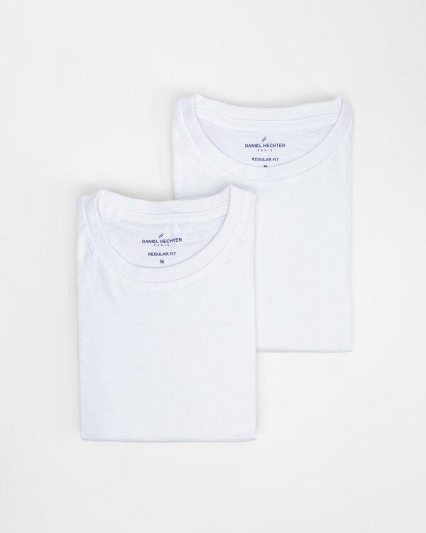 T-Shirt Daniel Hechter 10288-474_001 biały