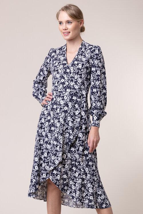 Sukienka Lauren Ralph Lauren 200782506001_LRN NAVY granatowy