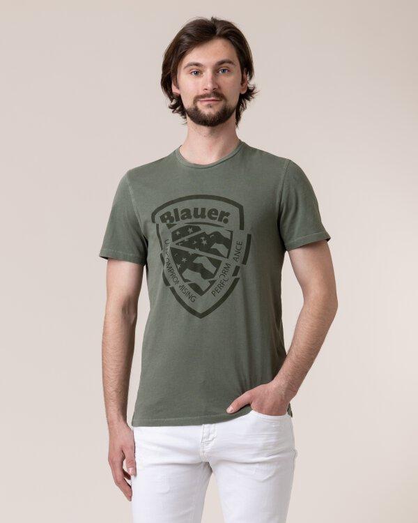 T-Shirt Blauer 20Sbluh02260_694 Zielony Blauer 20SBLUH02260_694 zielony