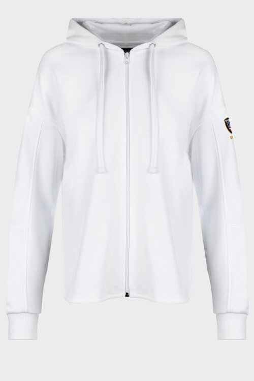 Bluza Blauer 20SBLDF02236_100 biały