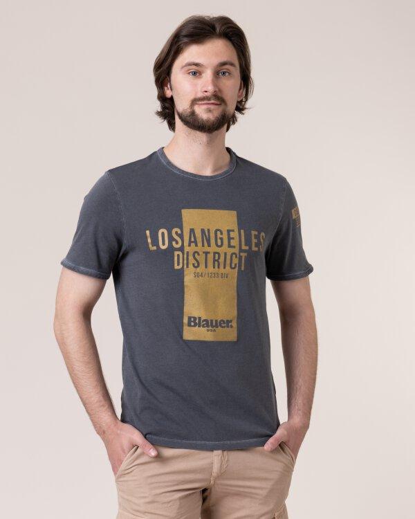 T-Shirt Blauer 20SBLUH02259_892 szary