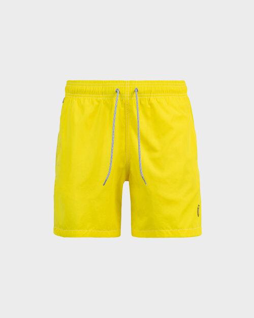 Kąpielówki Blauer 20SBLUN02438_210 żółty