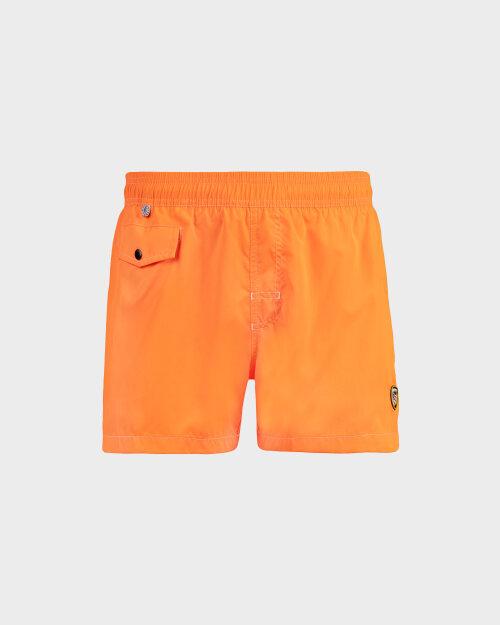 Szorty Blauer 20SBLUN02439_043 pomarańczowy