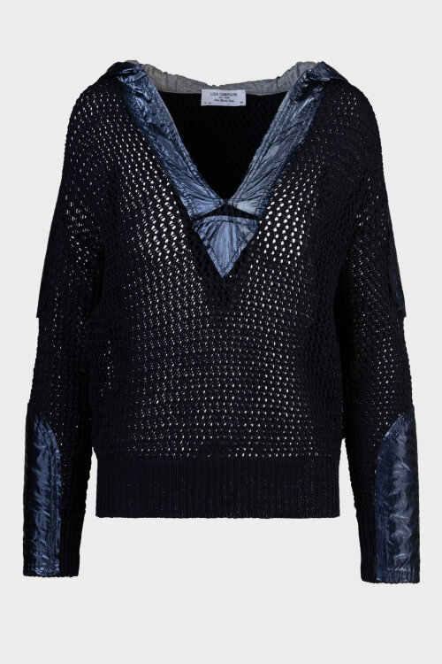 Sweter Campione 5262043_121010_85400 granatowy