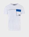 T-Shirt Antony Morato MMKS01689_FA100144_1000 biały