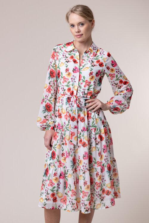 Sukienka Na-Kd 1100-002156_FLOWER PRINT wielobarwny