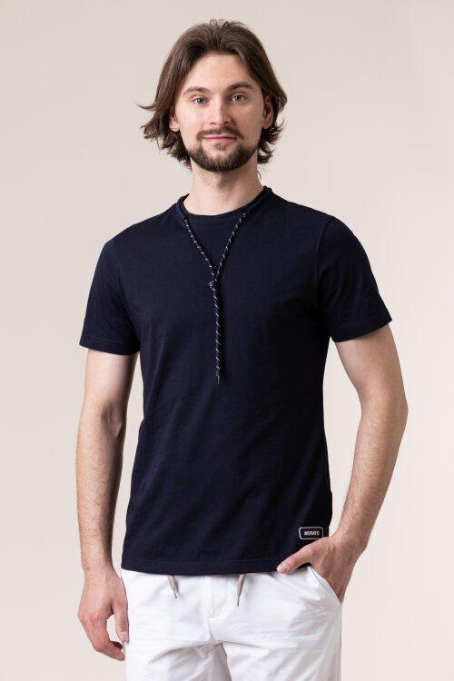 T-Shirt Antony Morato MMKS01789_FA100144_7073 granatowy