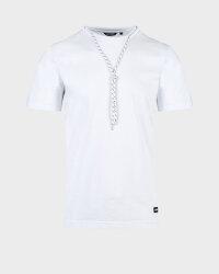 T-Shirt Antony Morato MMKS01789_FA100144_1000 biały- fot-0