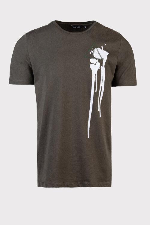 T-Shirt Antony Morato MMKS01787_FA100189_4051 zielony
