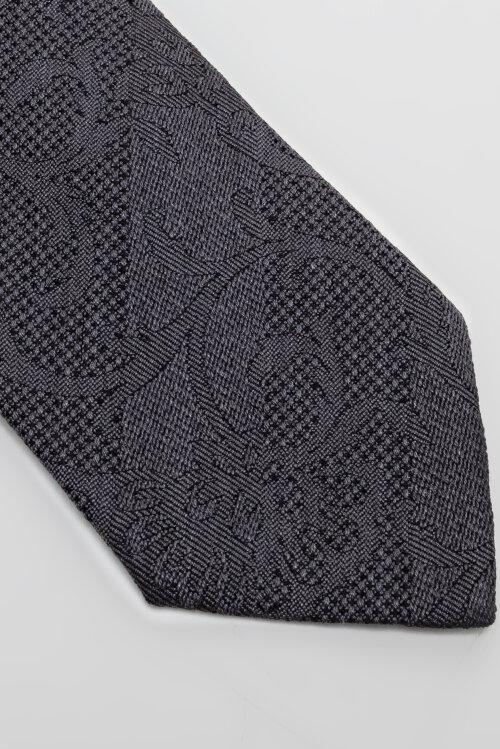 Krawat Eton A000_32344_18 brązowy