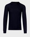 Sweter Oscar Jacobson MATTY 6930_5217_210 granatowy