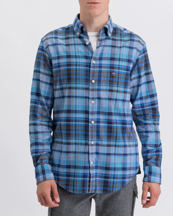 Koszula Fynch-Hatton 12196130_6131 niebieski