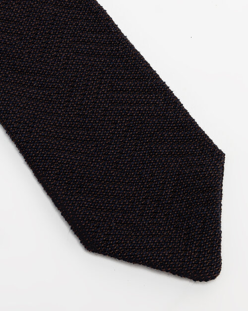 Krawat Eton A000_32346_38 granatowy