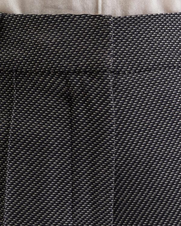 Spodnie Kossmann KF-CD66-2-10-8_BEZ/CZARNY czarny