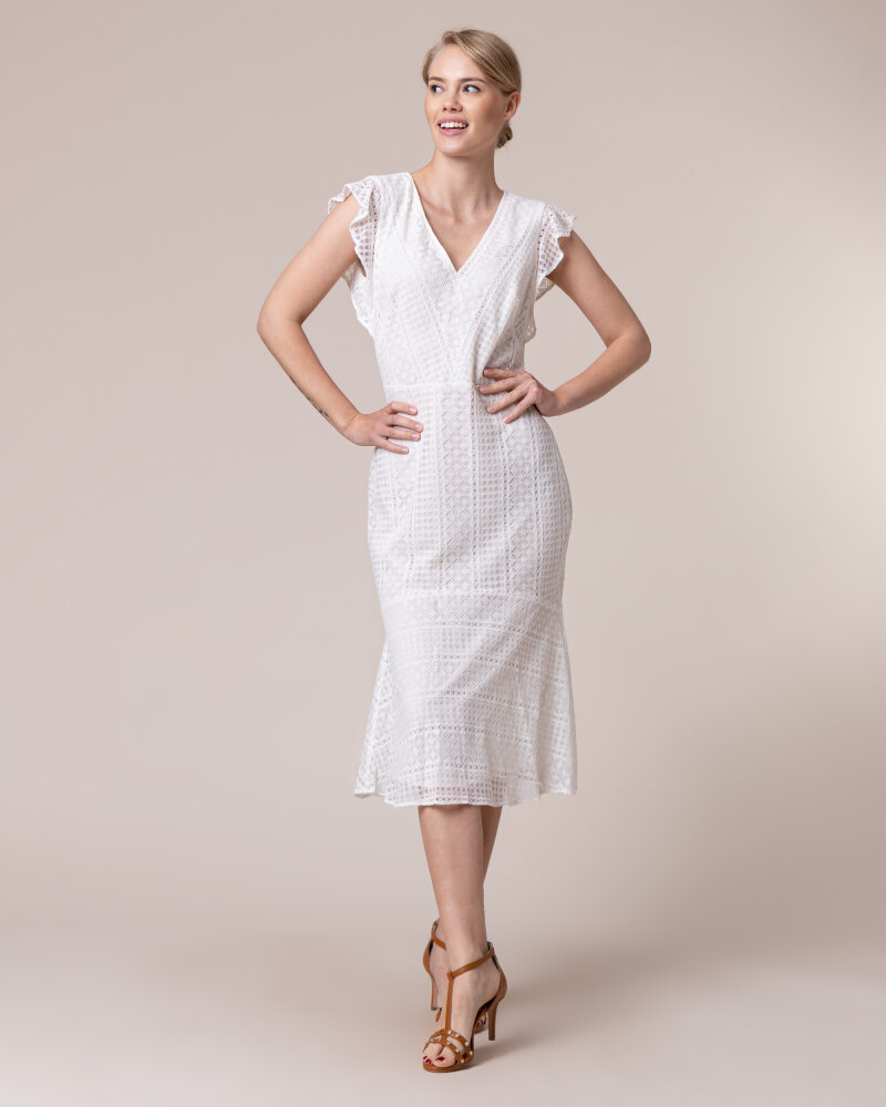Sukienka Lauren Ralph Lauren 250786139002_Ivory Kremowy Lauren Ralph Lauren 250786139002_IVORY kremowy - fot:6
