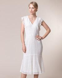 Sukienka Lauren Ralph Lauren 250786139002_IVORY kremowy- fot-1