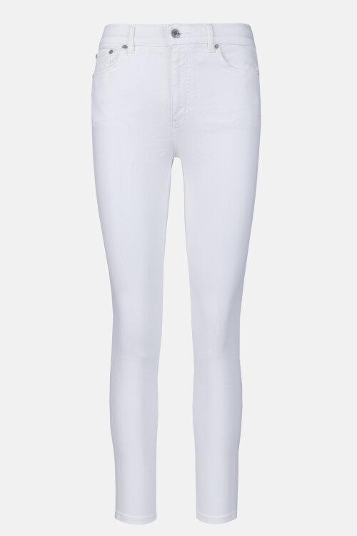 Spodnie Lauren Ralph Lauren 200799410001_WHITE WASH biały