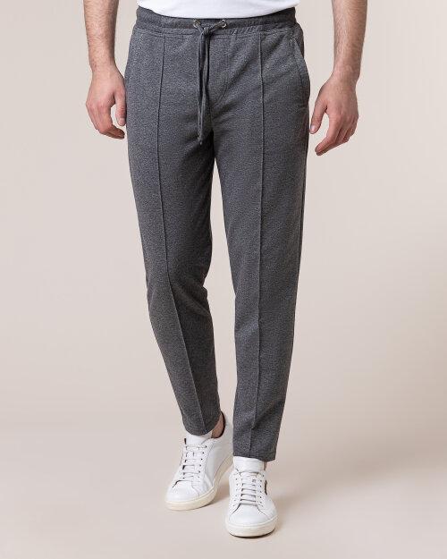 Spodnie Philip Louis NOS_M-TRO-0039 NOS_DARK GREY ciemnoszary